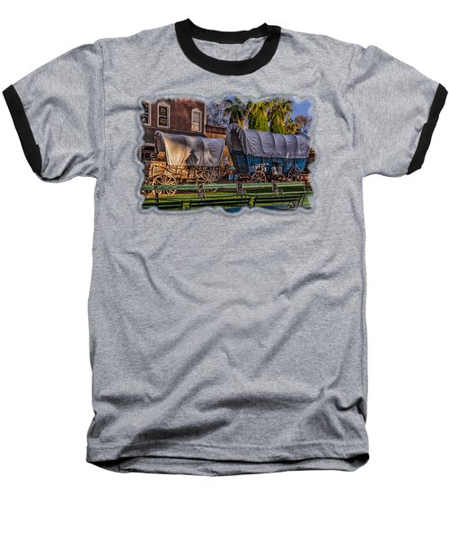 Ghost Of Old West No.1 Baseball T-Shirt
