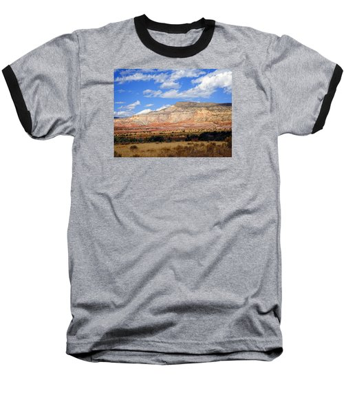 Baseball T-Shirt featuring the photograph Ghost Ranch New Mexico by Kurt Van Wagner