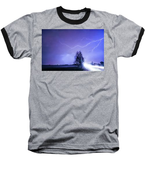 Baseball T-Shirt featuring the photograph Ghost Rider by James BO Insogna