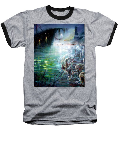 Ghost Ship 2 Baseball T-Shirt by Heather Calderon