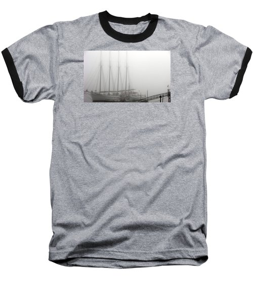 Baseball T-Shirt featuring the photograph Ghost Ship by Helen Haw