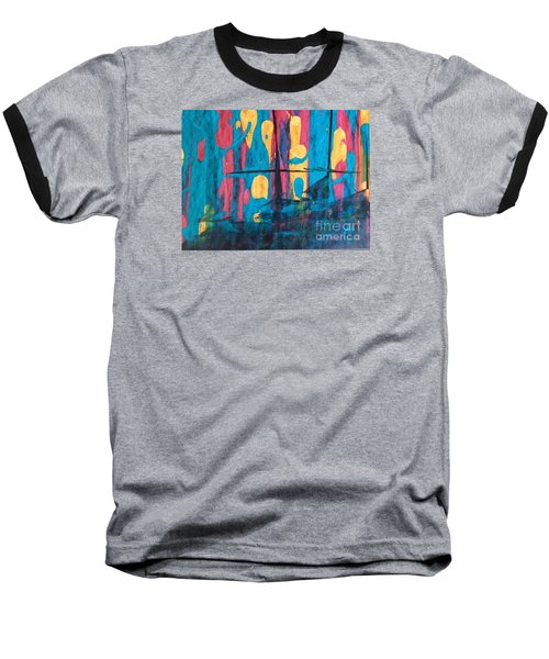 Baseball T-Shirt featuring the painting Ghost Ship by Marcia Dutton