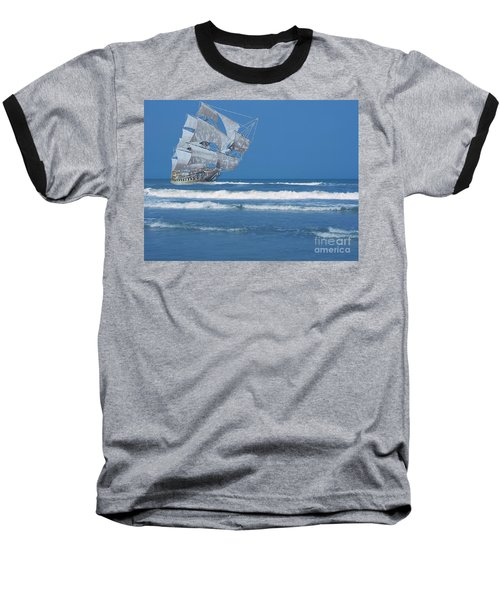 Ghost Ship On The Treasure Coast Baseball T-Shirt