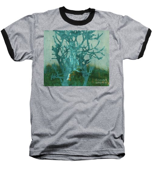 Ghost Tree Baseball T-Shirt