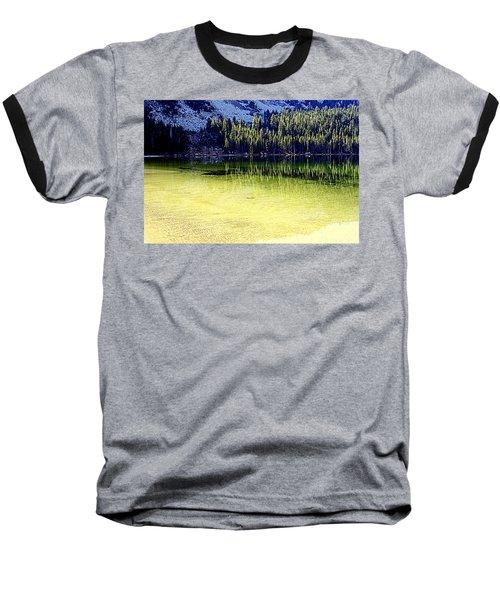 Ghostly Reflections Baseball T-Shirt