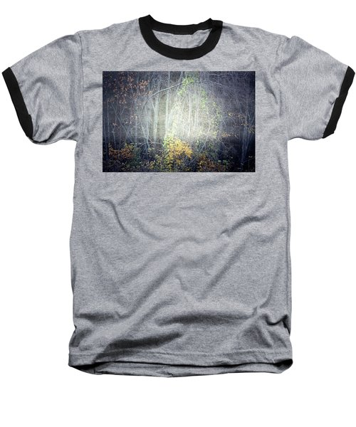 Baseball T-Shirt featuring the photograph Ghosts Of The Forest 2 by Tara Turner