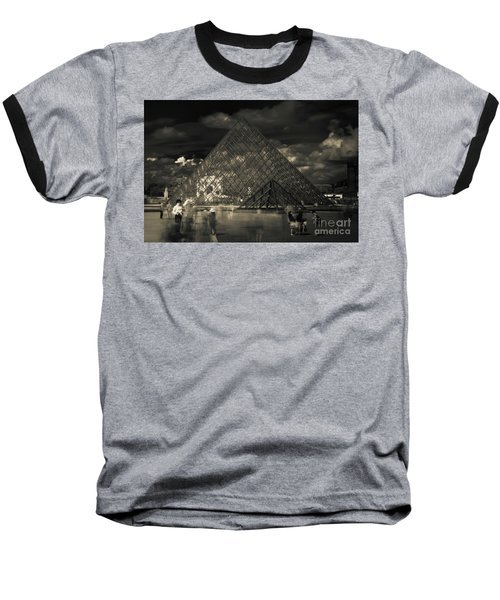 Ghosts Of The Louvre Baseball T-Shirt