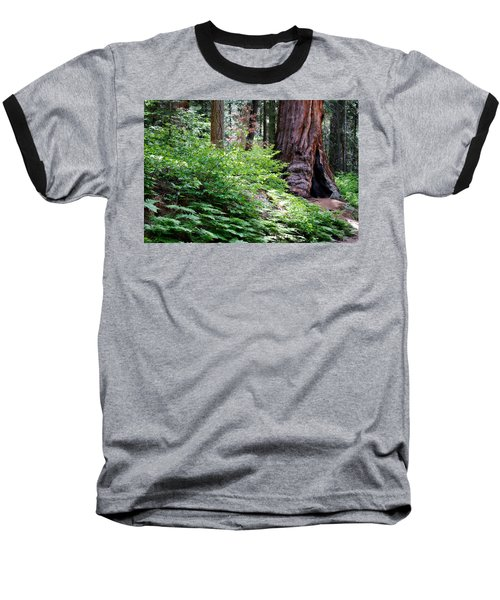 Baseball T-Shirt featuring the photograph Giant Among The Forest by Lana Trussell