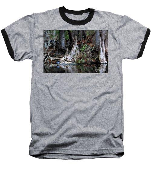 Giant Cypress Knees Baseball T-Shirt