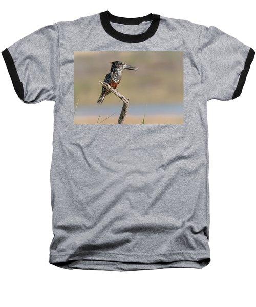 Giant Kingfisher Baseball T-Shirt