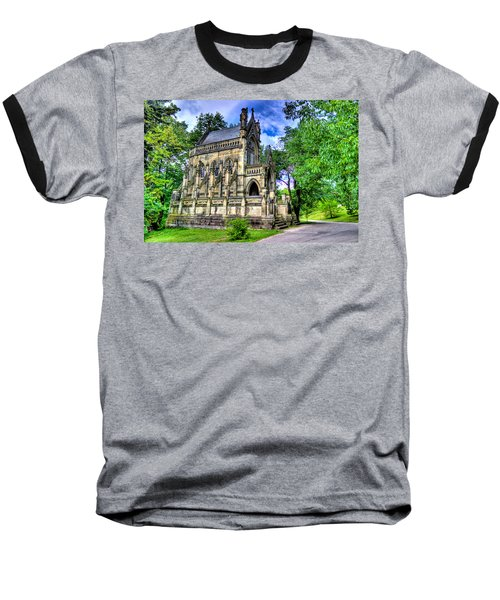 Giant Spring Grove Mausoleum Baseball T-Shirt