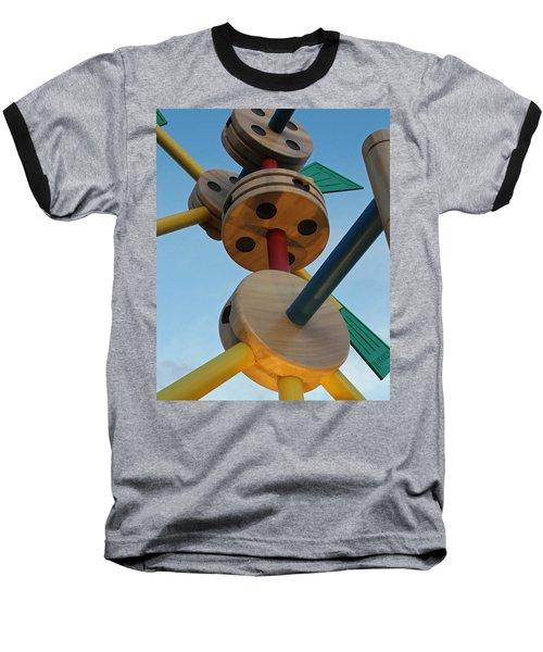 Giant Tinker Toys Baseball T-Shirt