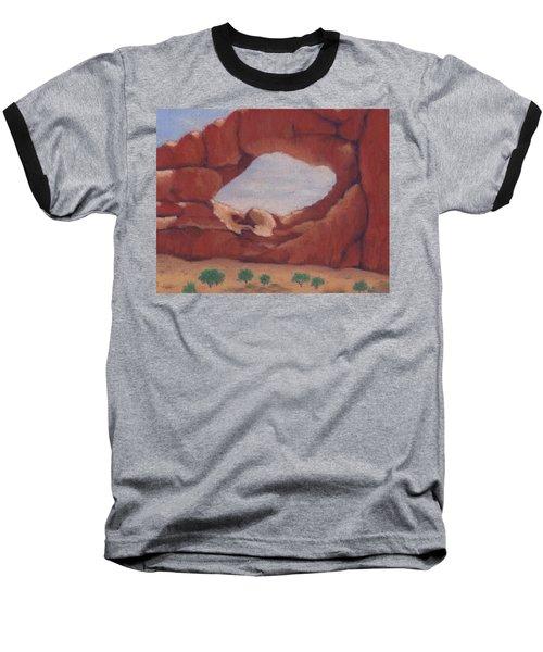 Giant Window Baseball T-Shirt
