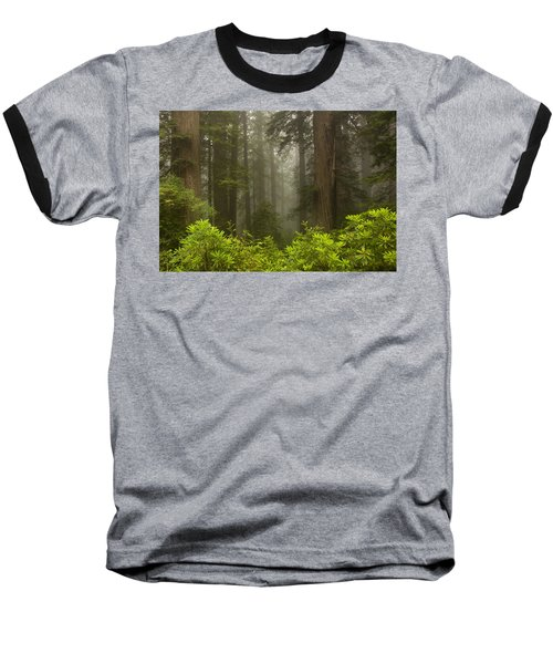Giants In The Mist Baseball T-Shirt