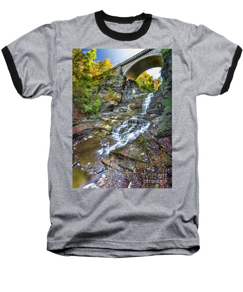 Giant's Staircase Under College Avenue Bridge Baseball T-Shirt