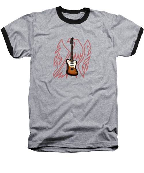 Gibson Firebird 1965 Baseball T-Shirt