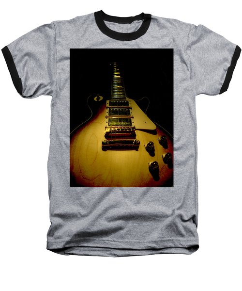 Guitar Triple Pickups Spotlight Series Baseball T-Shirt