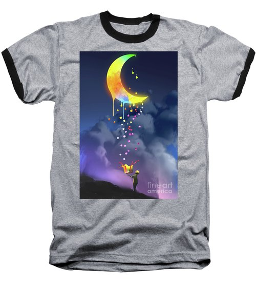 Gifts From The Moon Baseball T-Shirt