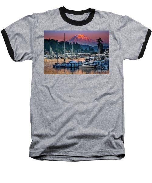 Gig Harbor Dusk Baseball T-Shirt