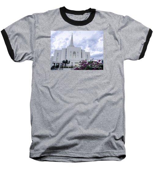 Gilbert Arizona Lds Temple 2 Baseball T-Shirt
