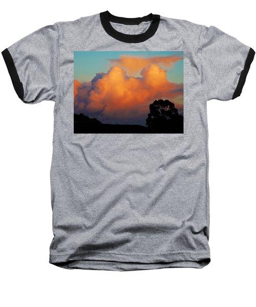 Gilded Dawn Baseball T-Shirt by Mark Blauhoefer