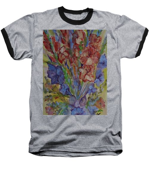 Gilded Flowers Baseball T-Shirt