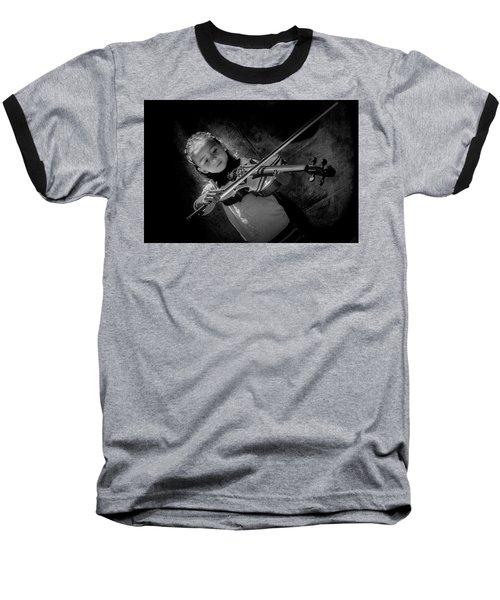 Gilrs And  Music Baseball T-Shirt