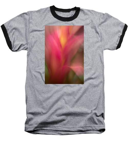 Ginger Flower Blossom Abstract Baseball T-Shirt by Catherine Lau