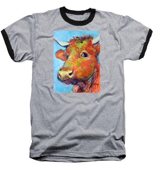 Ginger Horn Baseball T-Shirt