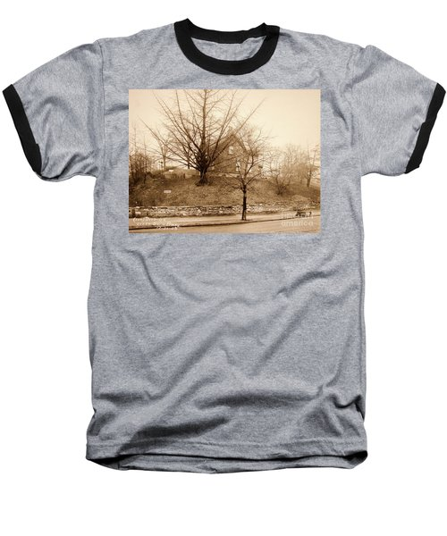 Ginkgo Tree, 1925 Baseball T-Shirt by Cole Thompson