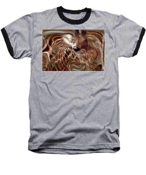 Giraffe Dreams No. 1 Baseball T-Shirt
