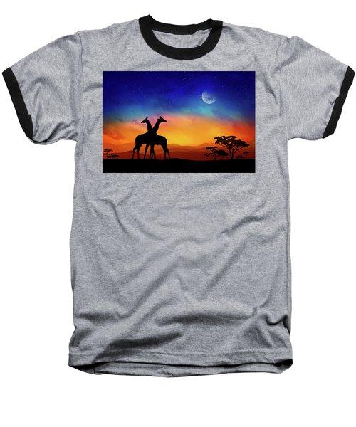 Giraffes Can Dance Baseball T-Shirt