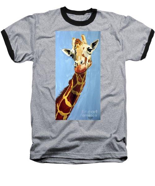 Girard Giraffe Baseball T-Shirt