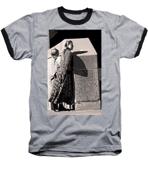 Girl And Dad Baseball T-Shirt