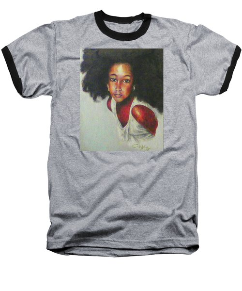 Girl From The Island Baseball T-Shirt by G Cuffia