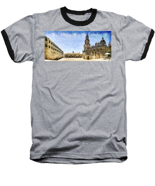 Girl In Santiago - Vintage Version Baseball T-Shirt