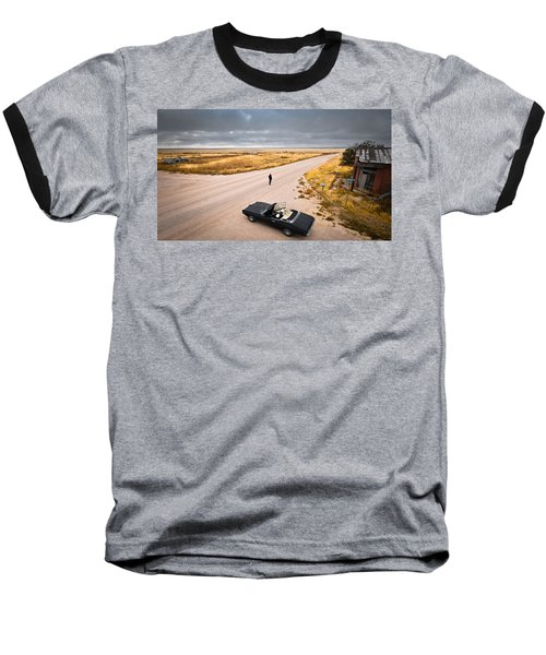 Girl Of The Golden West Baseball T-Shirt
