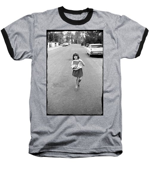 Girl On 13th Street, 1971 Baseball T-Shirt