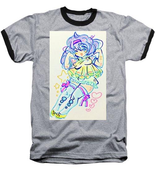 Girl04 Baseball T-Shirt