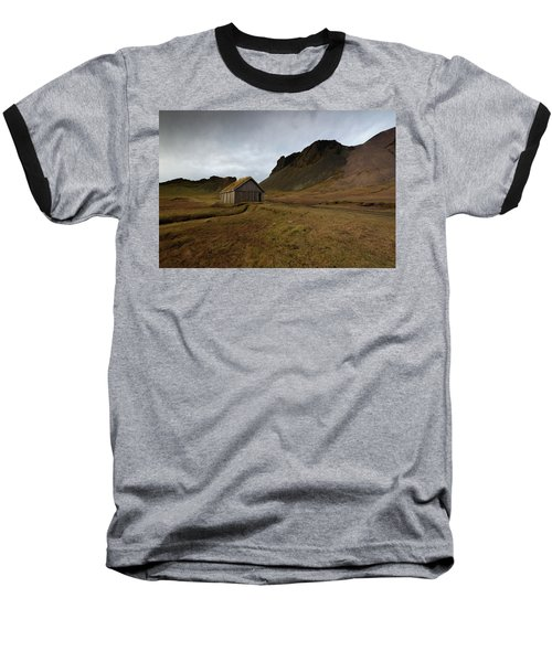Baseball T-Shirt featuring the photograph Give Me Shelter by Allen Biedrzycki