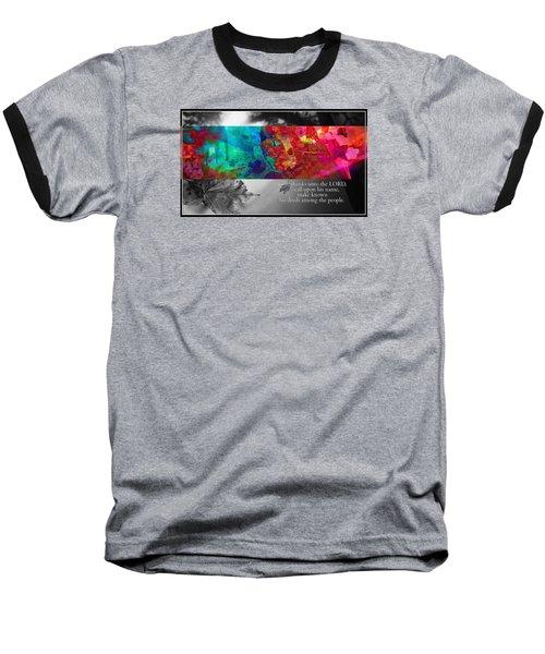 Give Thanks Baseball T-Shirt
