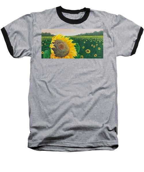Giver Of Life Baseball T-Shirt by Susan DeLain