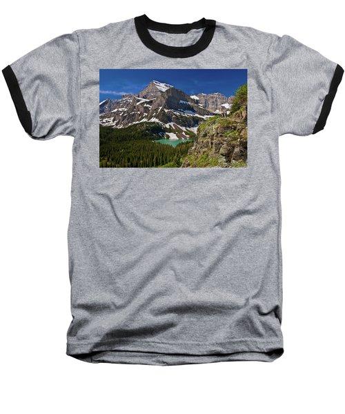 Glacier Backcountry 2 Baseball T-Shirt