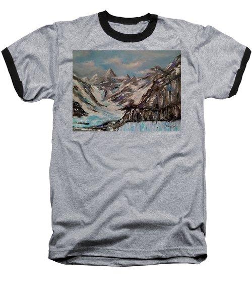 Glacier Bay, Alaska Baseball T-Shirt