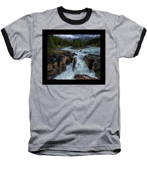 Glacier Falls Baseball T-Shirt