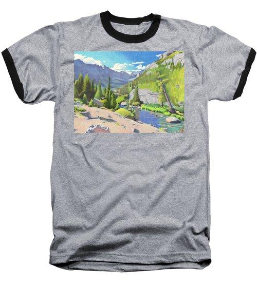 Glacier Gorge Baseball T-Shirt