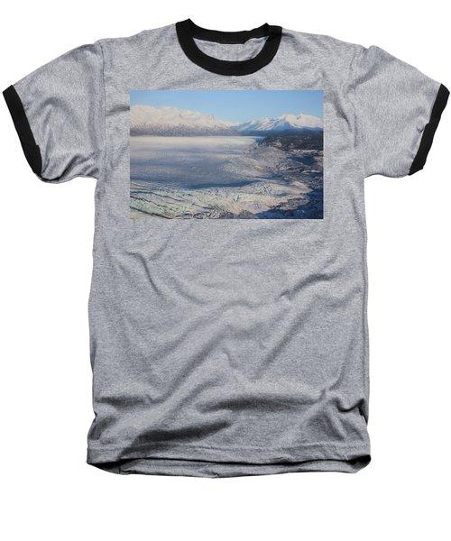 Baseball T-Shirt featuring the photograph Glacier In Alaska by Jingjits Photography