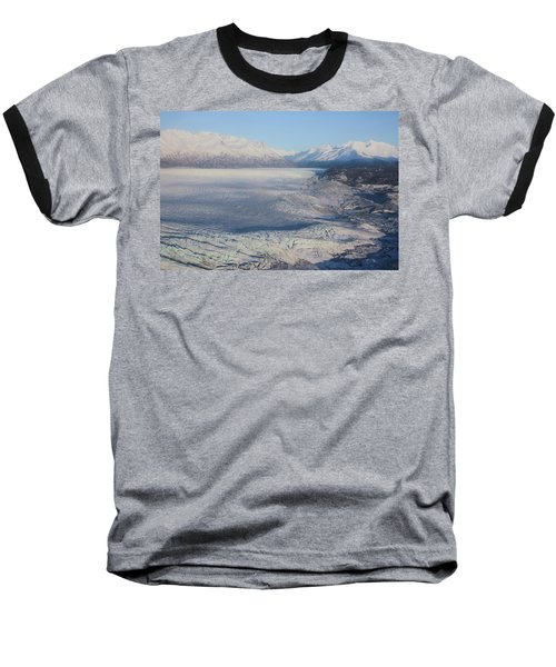 Glacier In Alaska Baseball T-Shirt