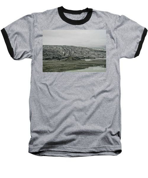 Glacier In Iceland Baseball T-Shirt