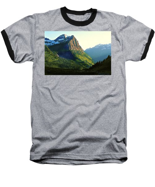 Glacier National Park 2 Baseball T-Shirt